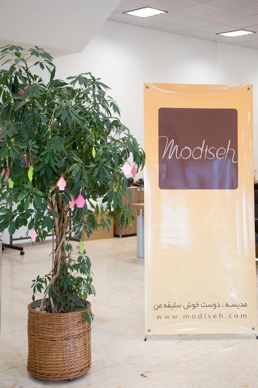 درخت آرزوها از روز ثبت شرکت در این سالن قرار داده شده است.