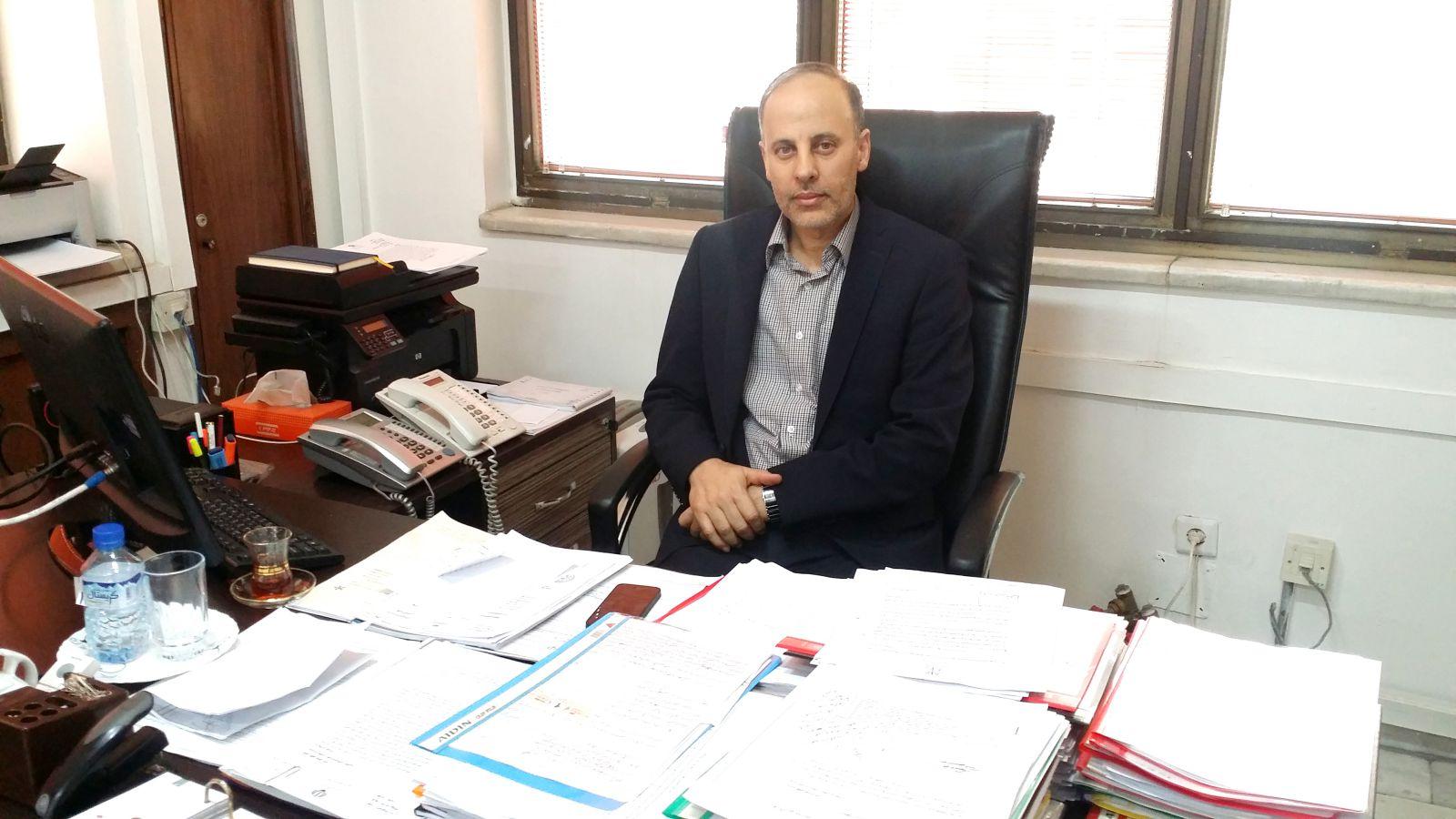 علی امانت ، قائم مرکز اصناف و بازرگانان و رئیس کمیته نظارت بر فعالیت فروشگاههای مجازی