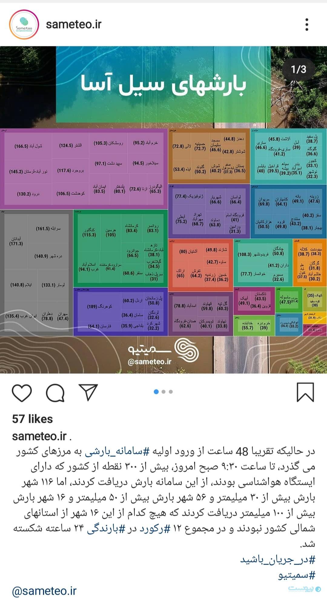 سیمیتو در شبکههای اجتماعی خود مانند اینستاگرام و تلگرام هشدارها و اطلاعیههای هواشناسی را منتشر میکند