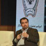 محمد نژادصداقت، مدیرعامل داتین در نشست رابطه کربنکینگ و تحول دیجیتال