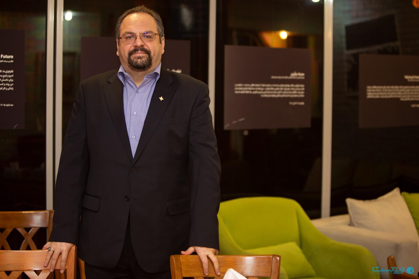 شهاب جوانمردی مدیرعامل هلدینگ فناپ